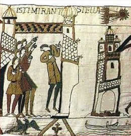 Bayeux Tapestry - click for full size.