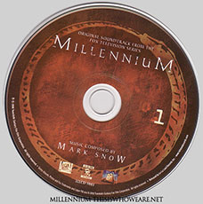 The first disc of the two disc set is accompanied by atmospheric artwork and beautiful design based upon the Millennium Group's version of the Ouroborus symbol. ©2008 Twentieth Century Fox Film Corporation.