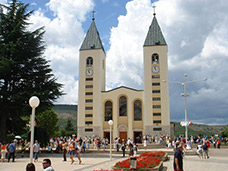 Shrine of Međugorje - click for full size.