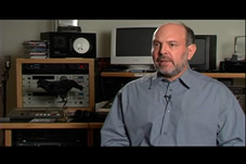 Mark Snow, Millennium's incredibly talented music composer.