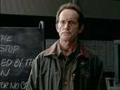 One of the jackets worn by Lance Henriksen as Frank Black in Millennium. - click for full size.
