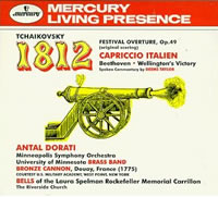 "Festival Overture ""The Year 1812"", Op.49; French Ouverture Solonelle 1812 (The Opening Theme) by Pyotr (Peter) Ilyich Tchaikovsky."