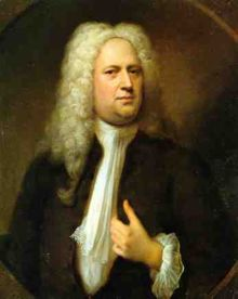 An image related to George Frideric Handel whose music was used in Millennium.