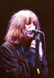 An image related to Patti Smith whose music was used in Millennium.