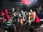 An image related to Kiss whose music was used in Millennium.