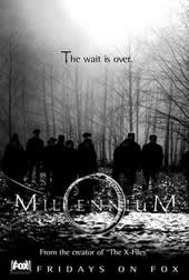 Millennium print advert for the first episode, Pilot.
