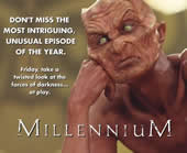 Millennium print ad image for Somehow, Satan Got Behind Me