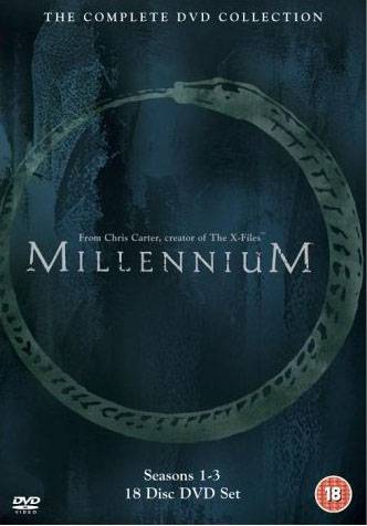 Millennium: The Complete DVD Collection DVD Box Set.