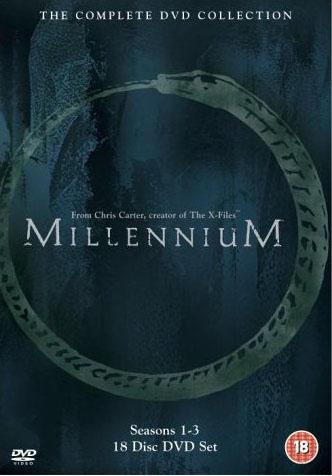 Millennium: The Complete DVD Collection DVD Box Set.