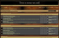 Preview of This is who we are - Millennium Message Board.