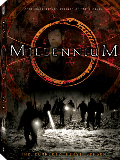 The cover of Millennium: The Complete First Season (region 1).