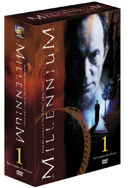 Front cover of Millennium Season One DVD.