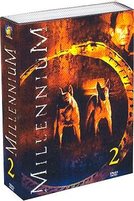 Millennium Season 2 DVD Cover Art.