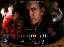 A preview of Fox's new Millennium DVD promotional website.