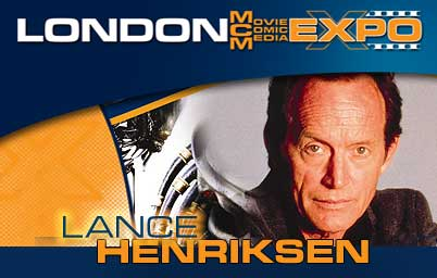 Lance Henriksen at the London Expo Show.