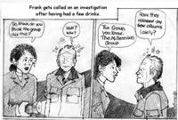 Jane Burrell's Millennium Cartoons.
