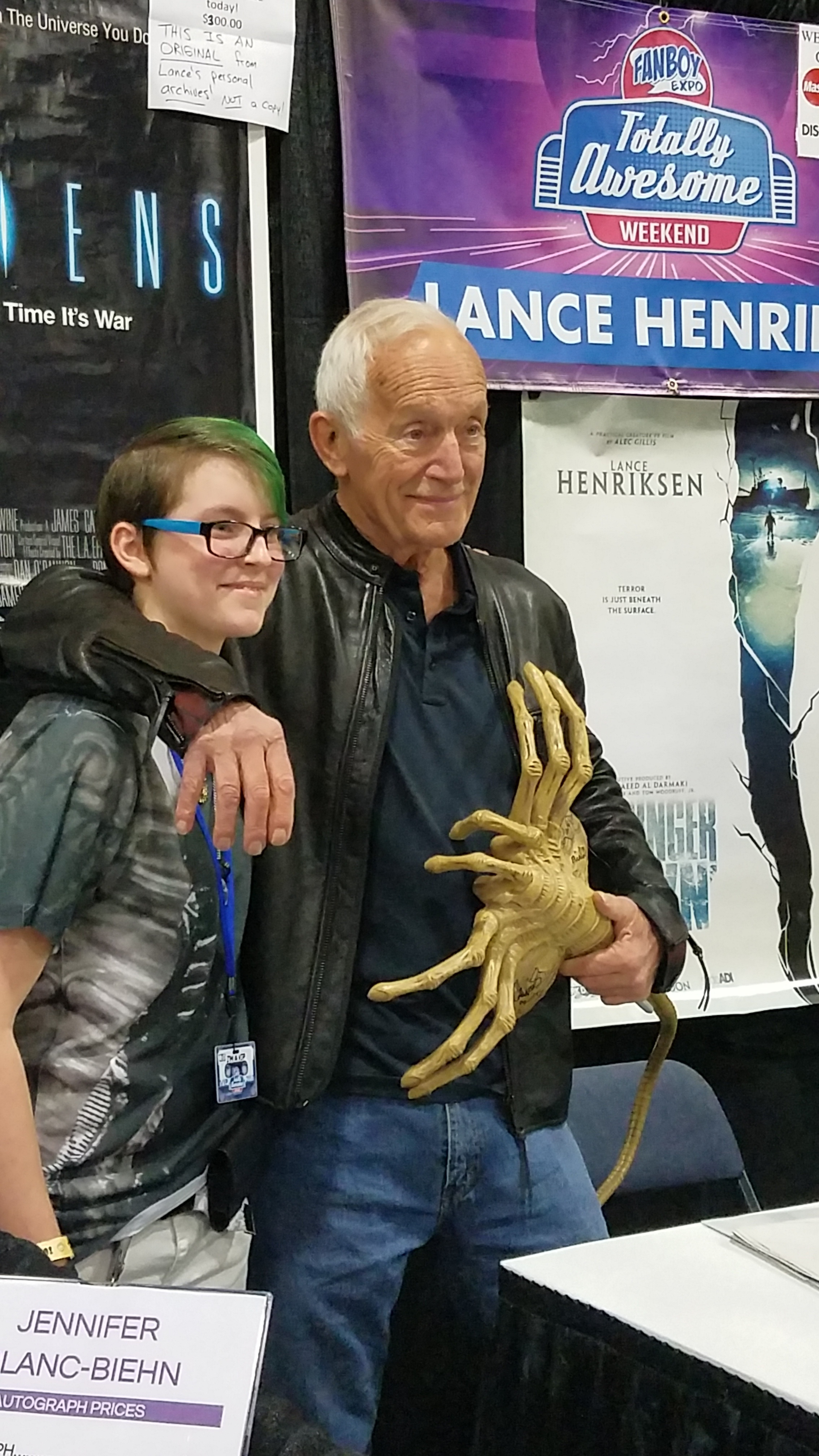 Lance Henriksen at Fanboy expo TN - Conventions & Events - This Is